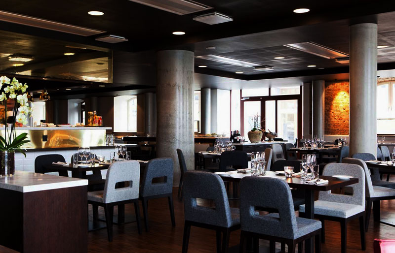 Restaurangen på Elite Hotel Marina Tower