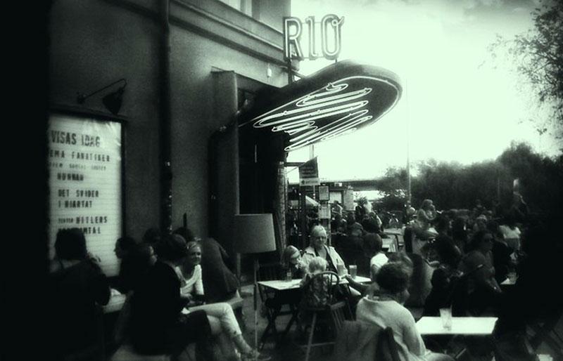 Äldre foto på Bio Rio
