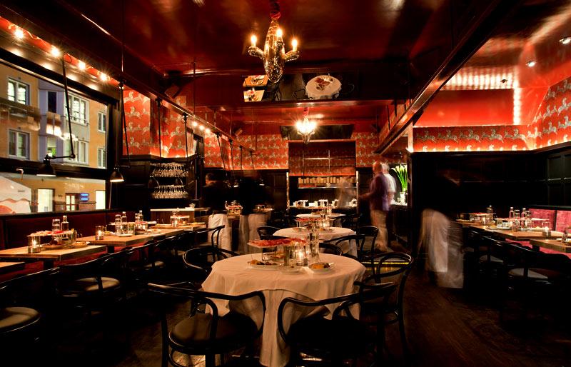 Vinutbudet på restaurang Il Tempo