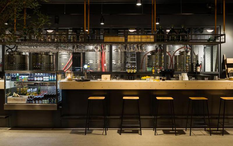 Hotellbaren på The Winery Hotel