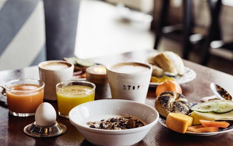 Härlig frukost på Story Hotel