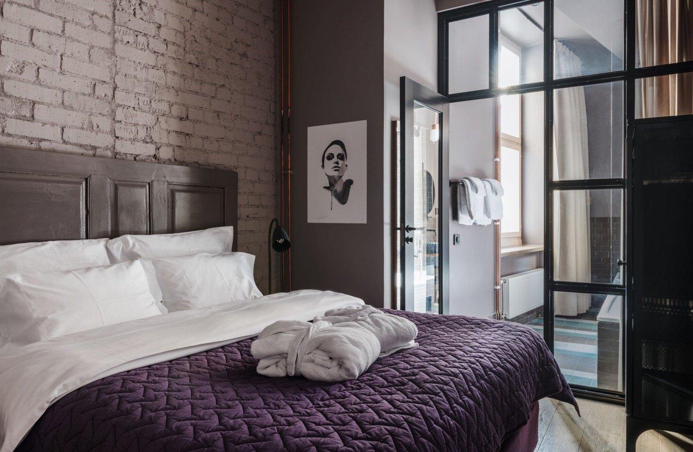 Hotellrum på Story hotell i Sundbyberg