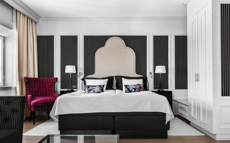 Romantiskt rum på Hotel Reisen